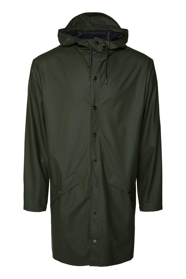 Rains Long Jacket regnjakke