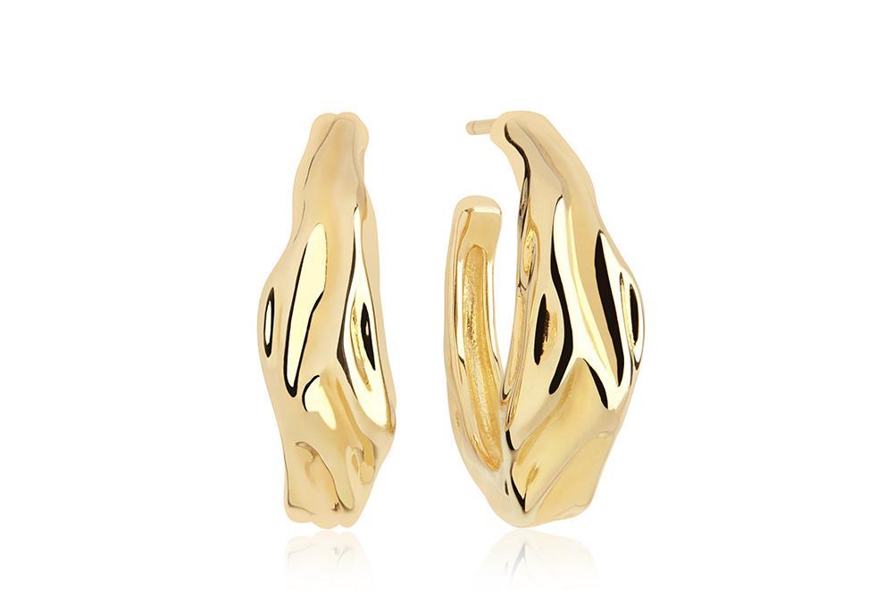 Sif Jakobs Jewellery Vulvanello Pianura Medio øreringe, guld