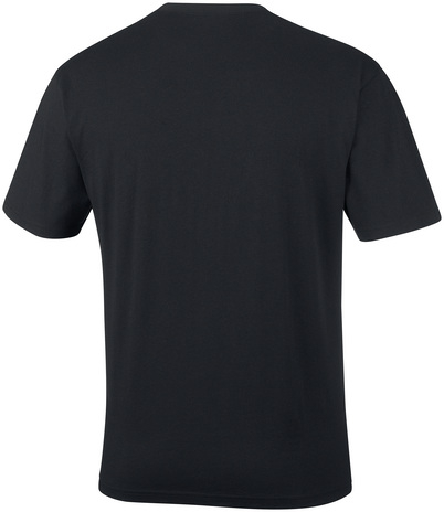 Columbia North Cascade Short Sleeve t-shirt, black, small