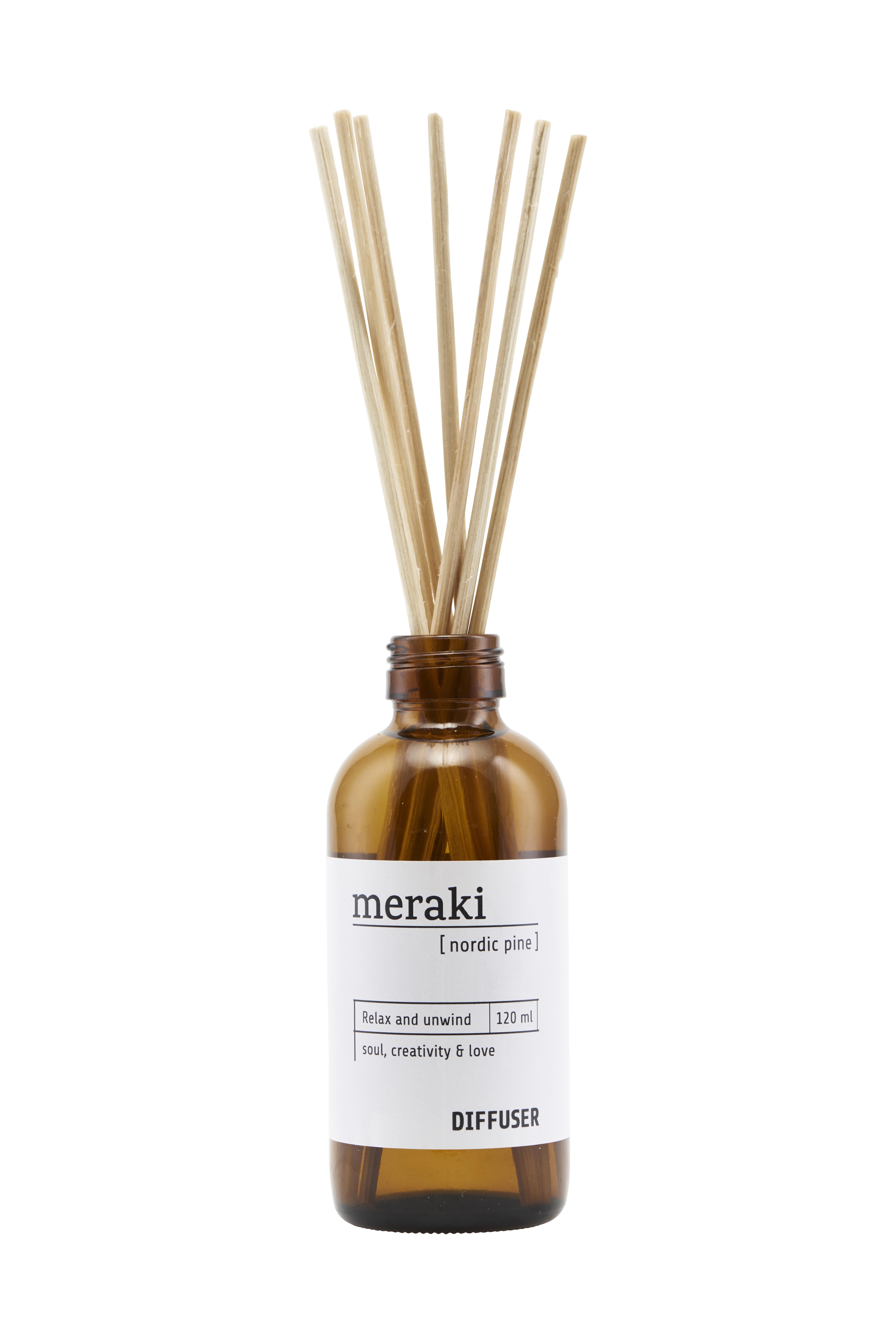 Meraki Nordic Pine Diffuser, 120 ml