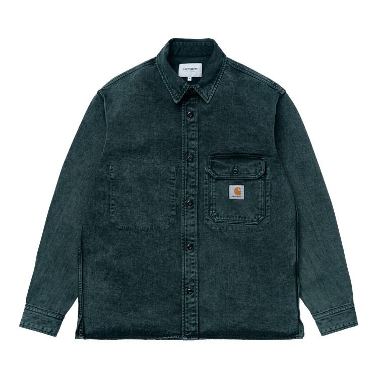Carhartt Reno shirt, deep lagoon, large