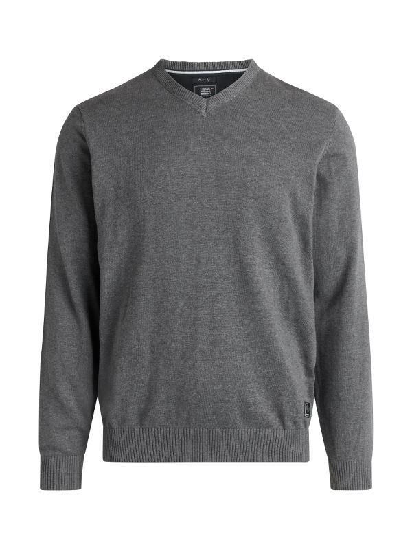 Signal Vern Bluse, Grey Melange, Medium