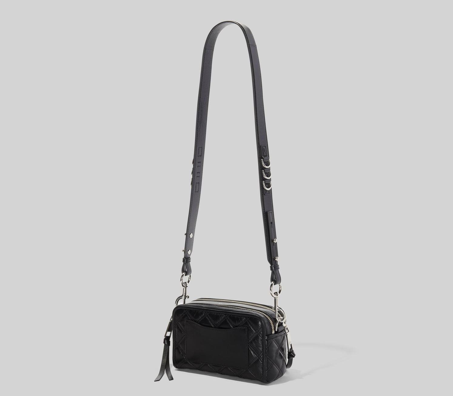 Marc Jacobs The Quilted Softshot 21 crossover, black