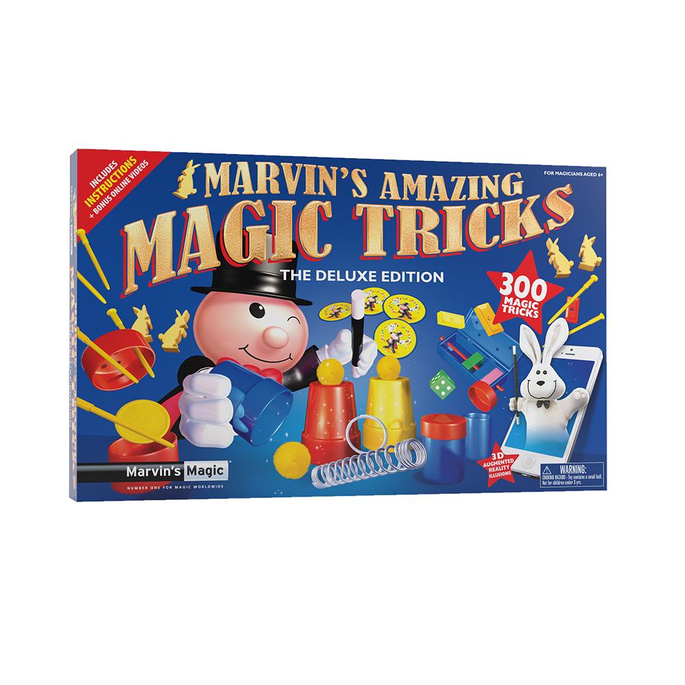 Marvins Magic tryllesæt med 300 tricks