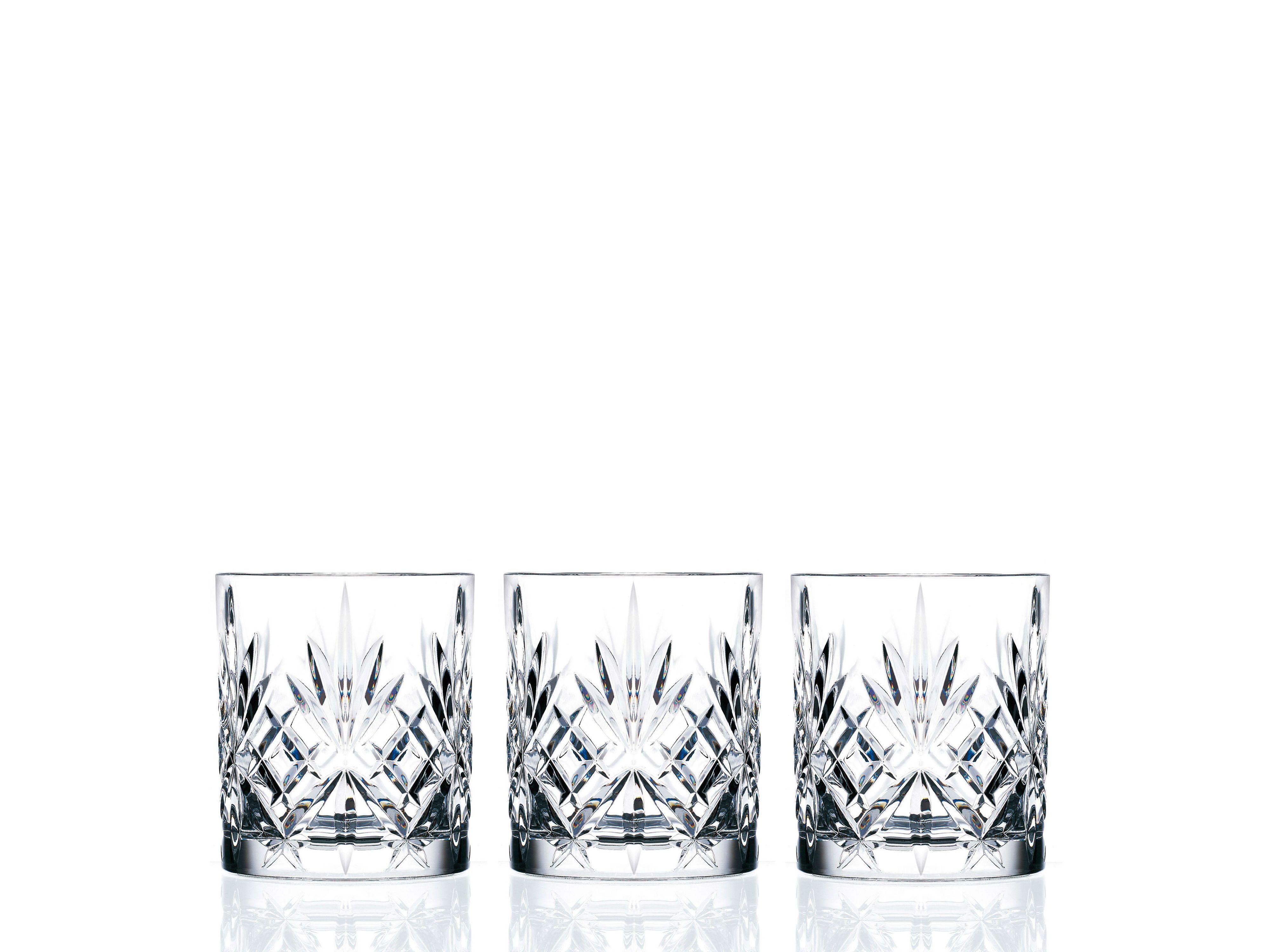 Lyngby-Glas Melodia Krystal whiskyglas, 310 ml, 6 stk