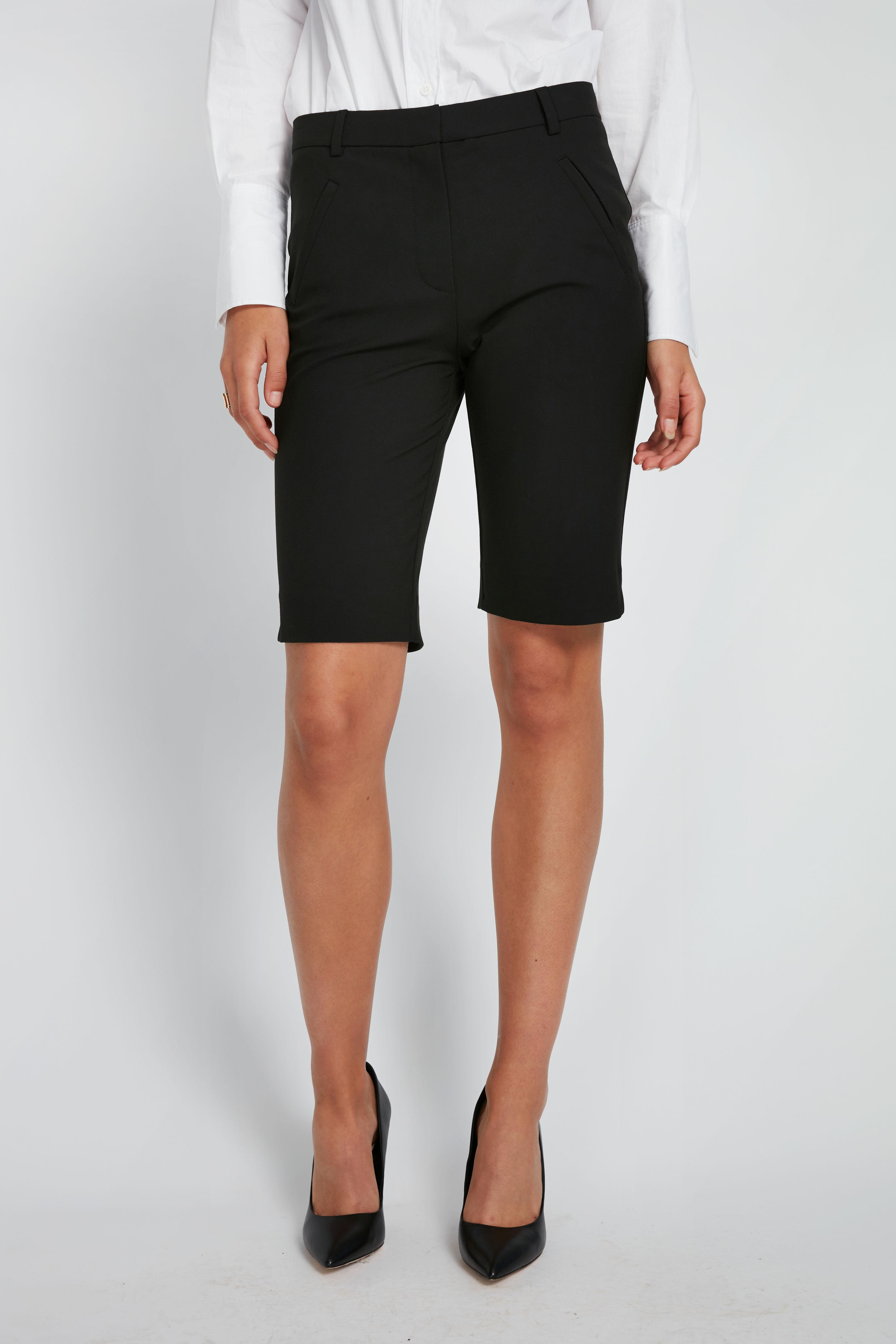 Fiveunits Angelie Split shorts, black, 27