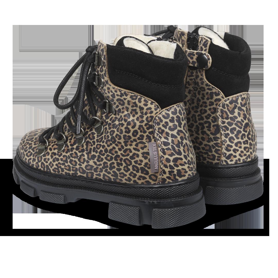 Angulus TEX snørestøvle, leopard, 30
