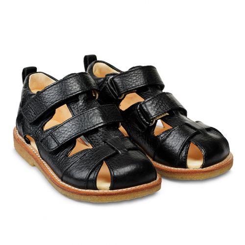 Angulus 0505-101 sandal, sort, 32