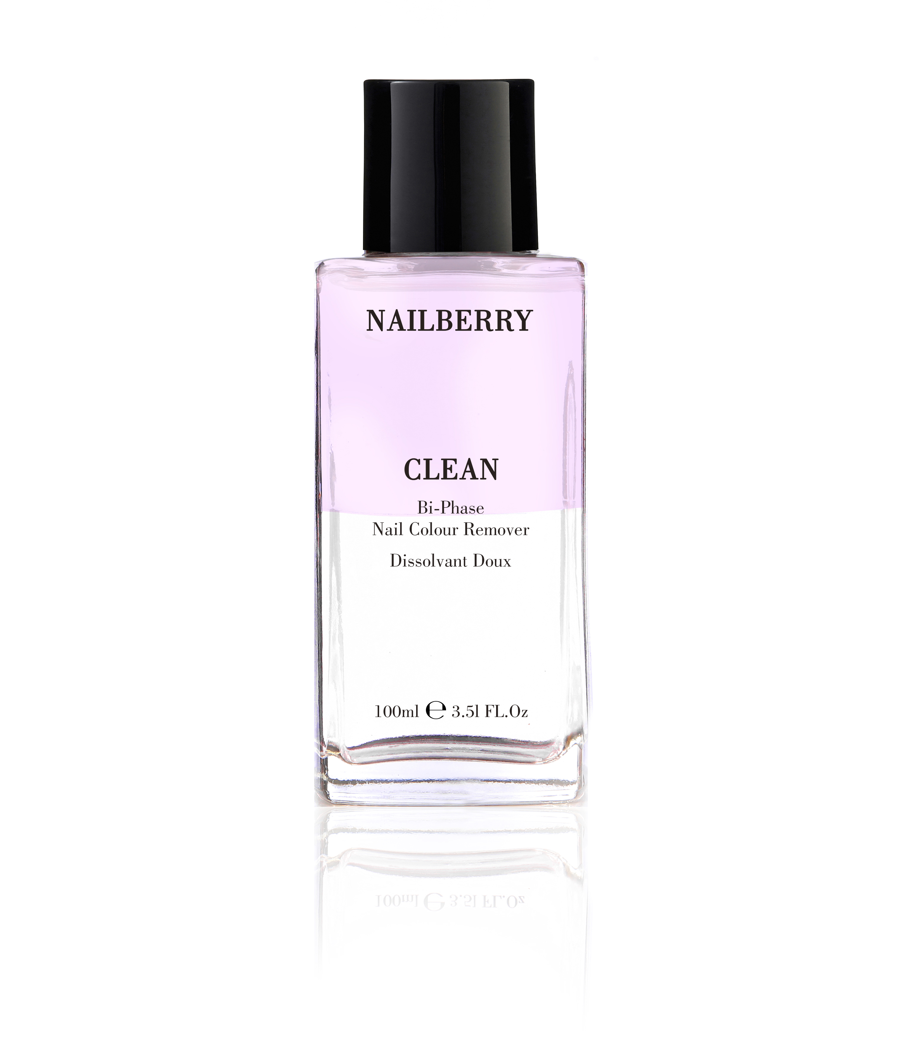 Nailberry Clean Nail Colour Remover, 100 ml