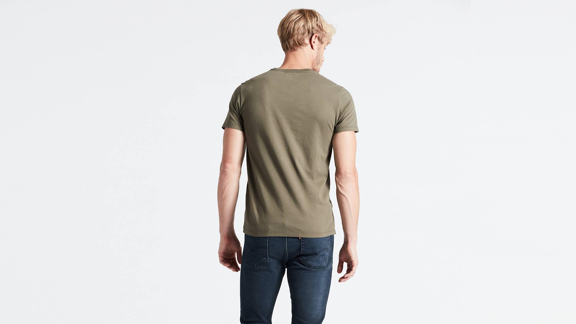 Levi's Original t-shirt, green, small