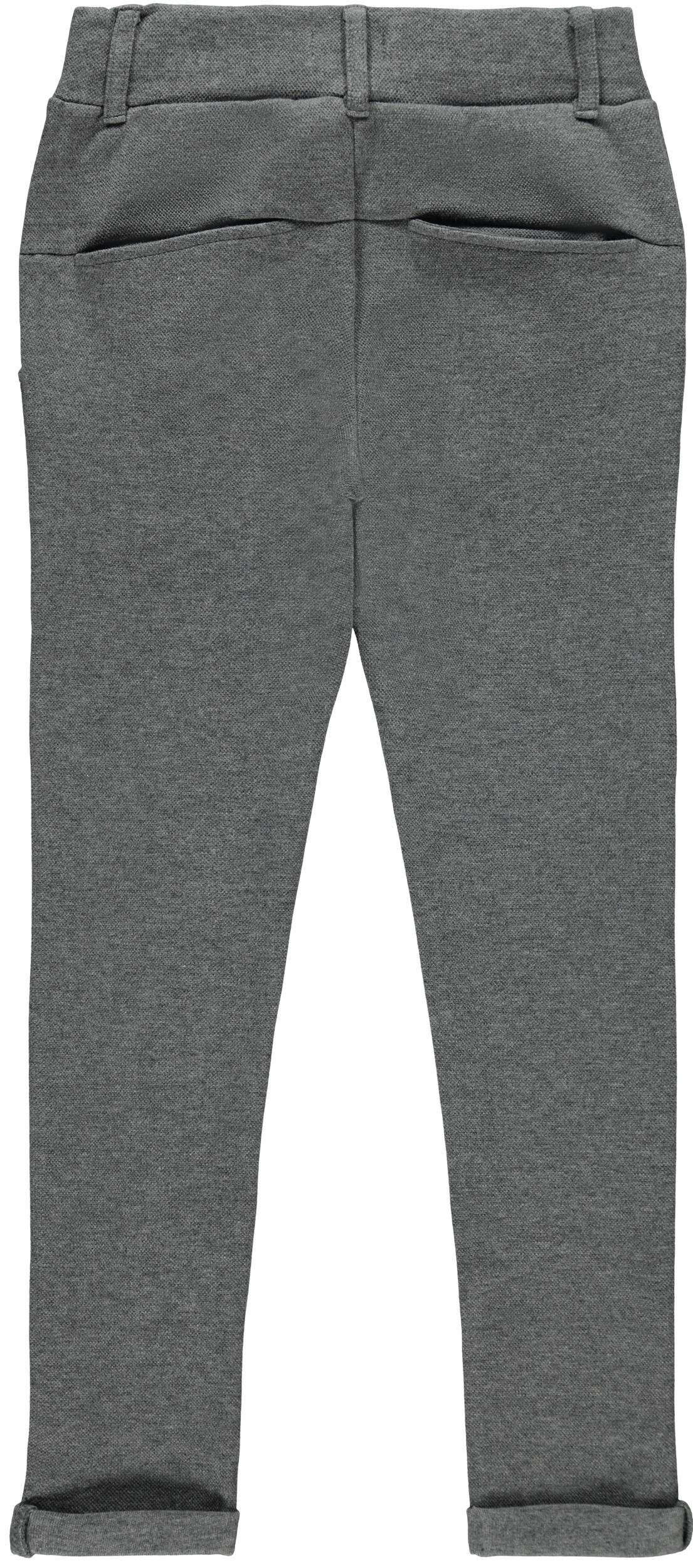 Name It Olson sweat bukser, dark grey melange, 140