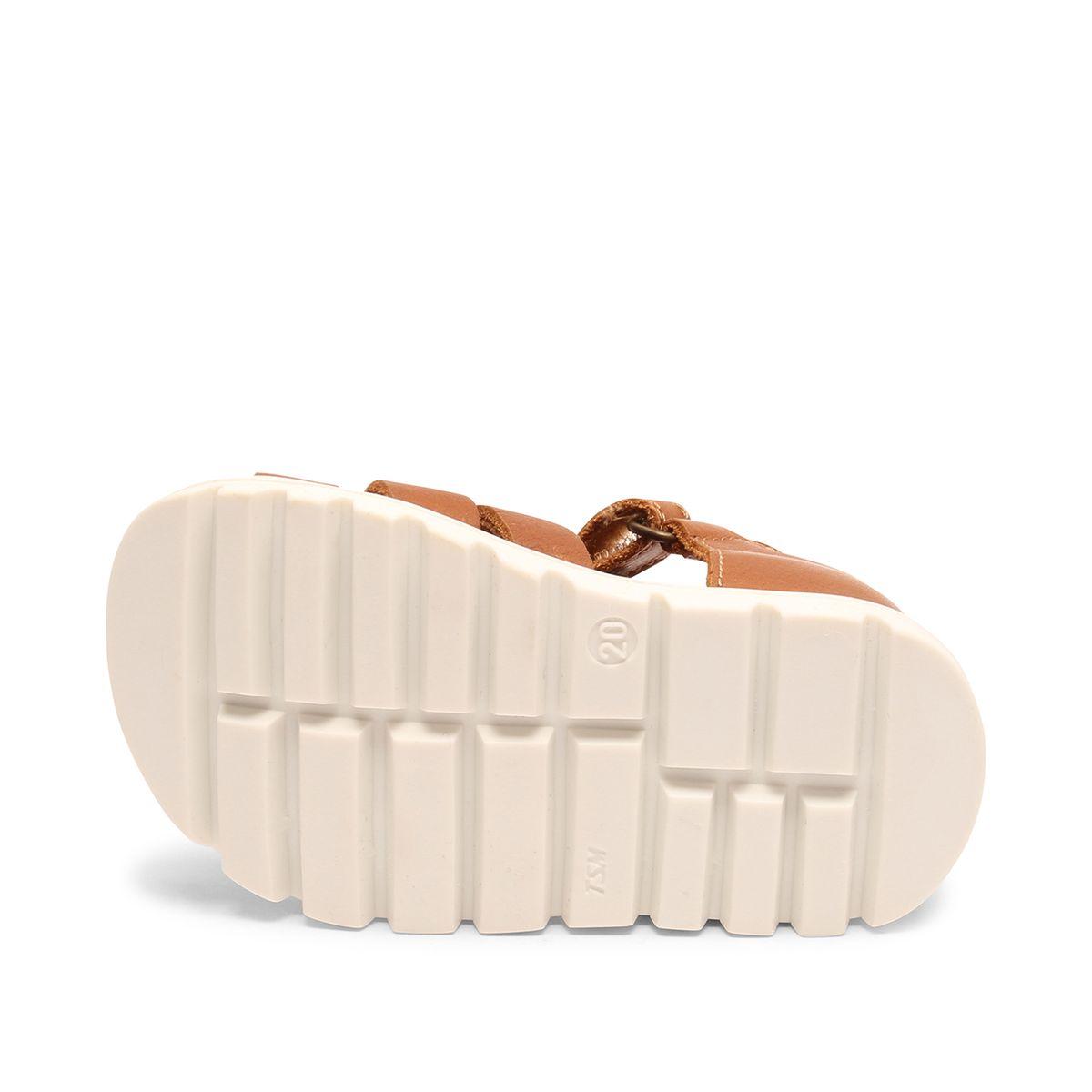Bisgaard Carlo sandal, cognac, 30