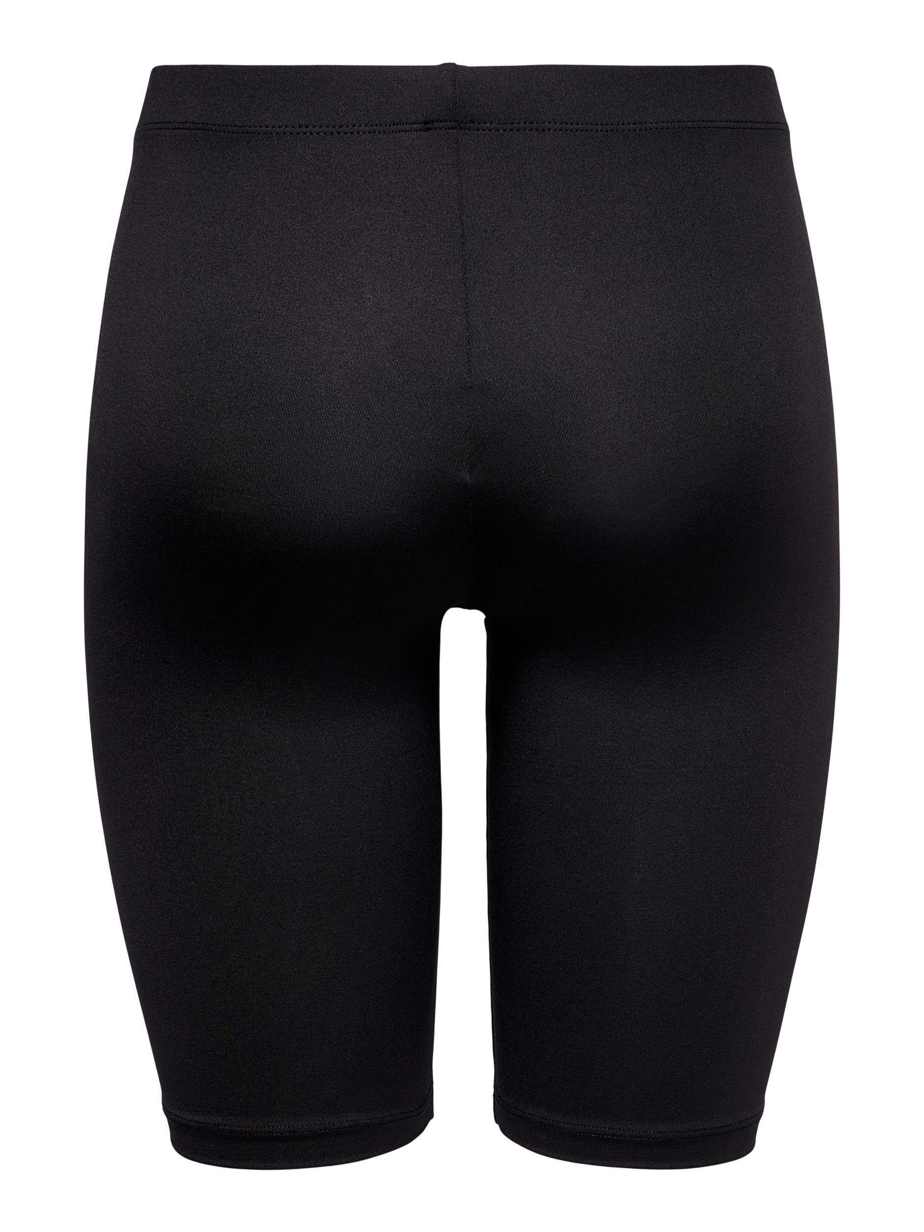 Jacqueline de Yong Rossy biker shorts, black, x-small