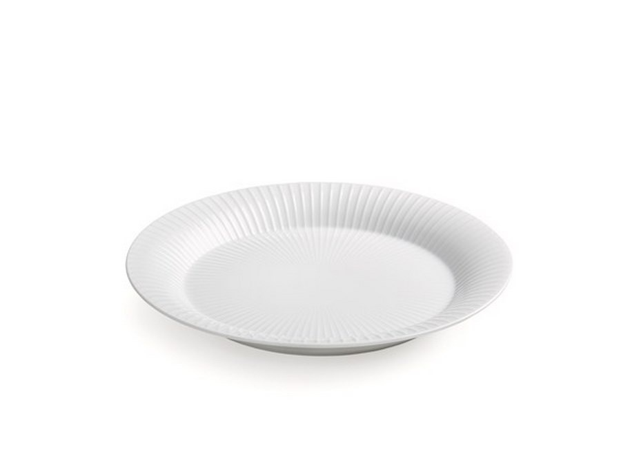 Kähler Hammershøi frokosttallerken, Ø22 cm, hvid