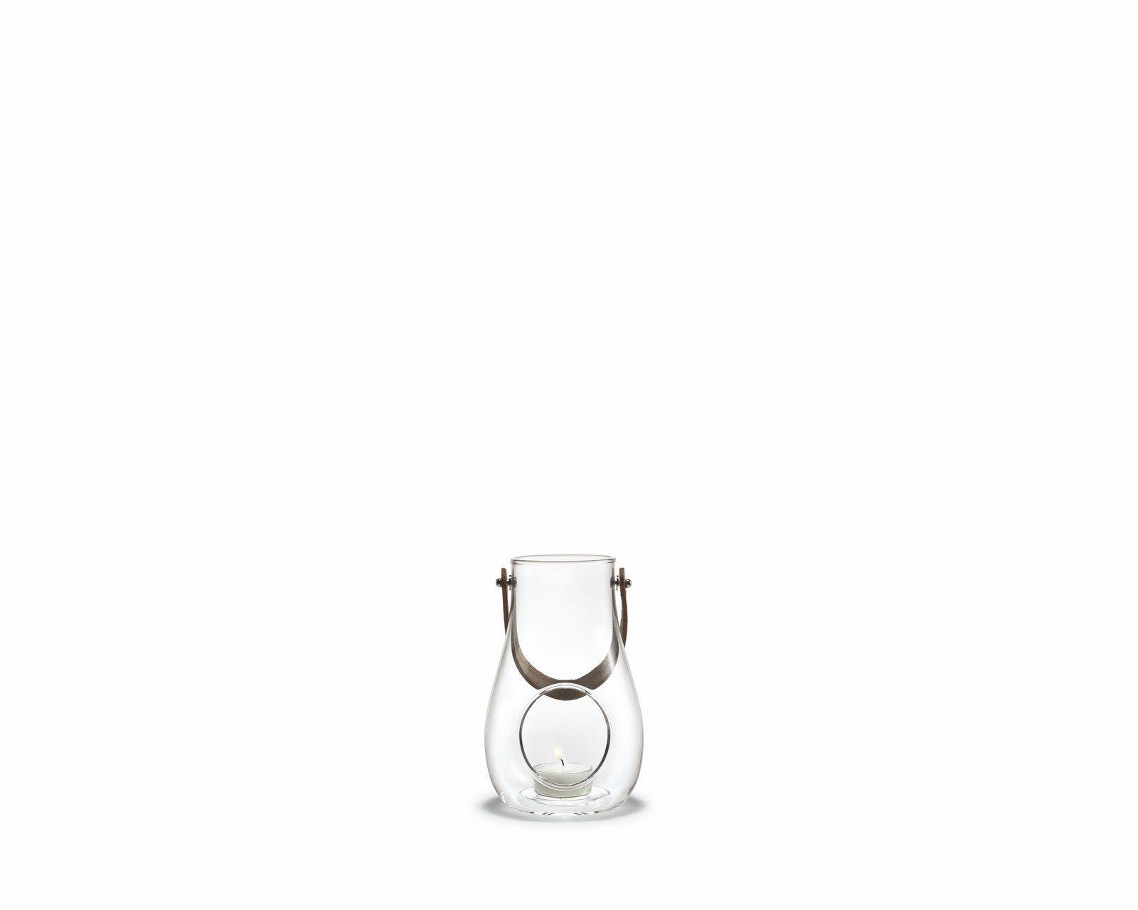 Holmegaard Design with light lanterne, 16 cm, klar