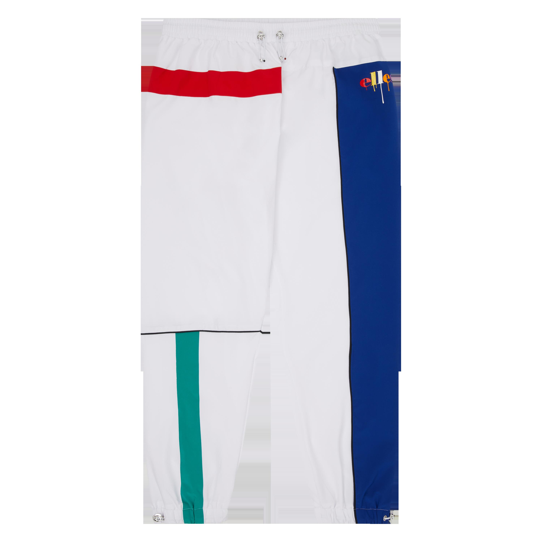 Ellesse Jeremiah track pants, white, small