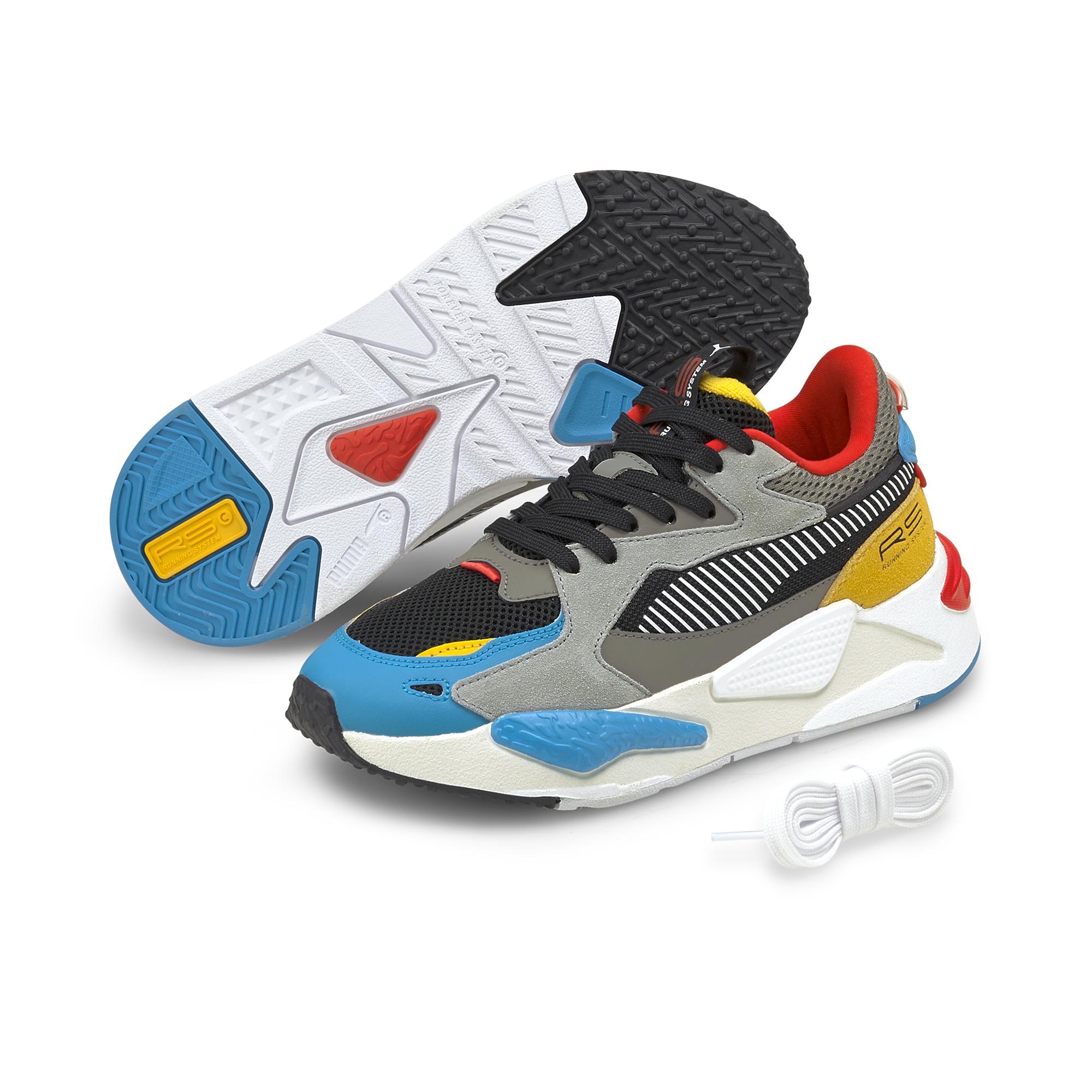 Puma RS-Z Sneakers JR, Hawaiian Ocean-Puma Black, 39