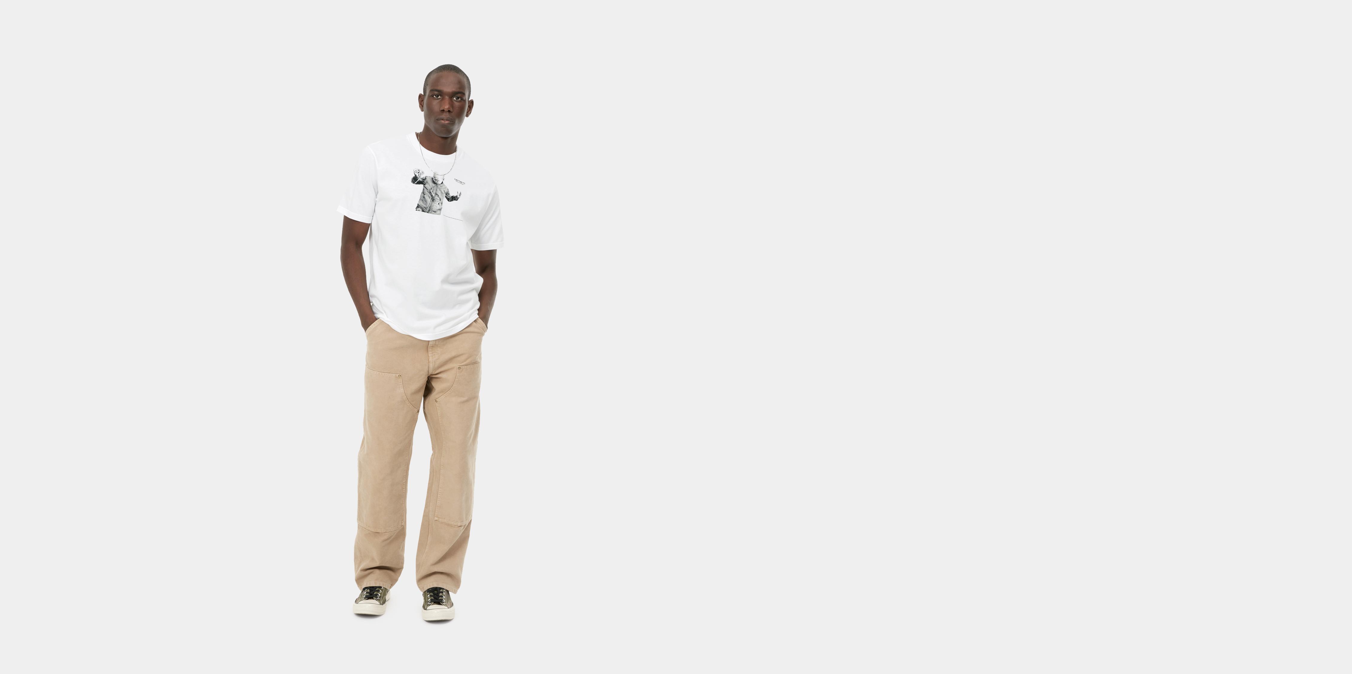 Carhartt Shohei t-shirt, hvid, x-small