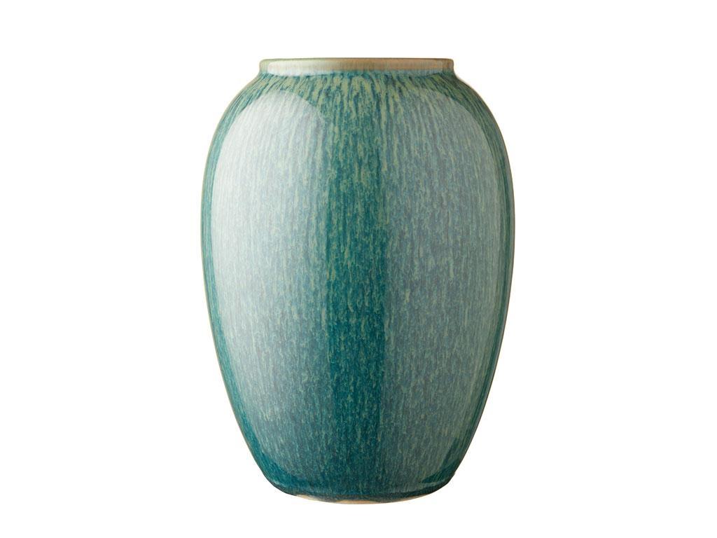 Bitz vase, 20 cm, grøn