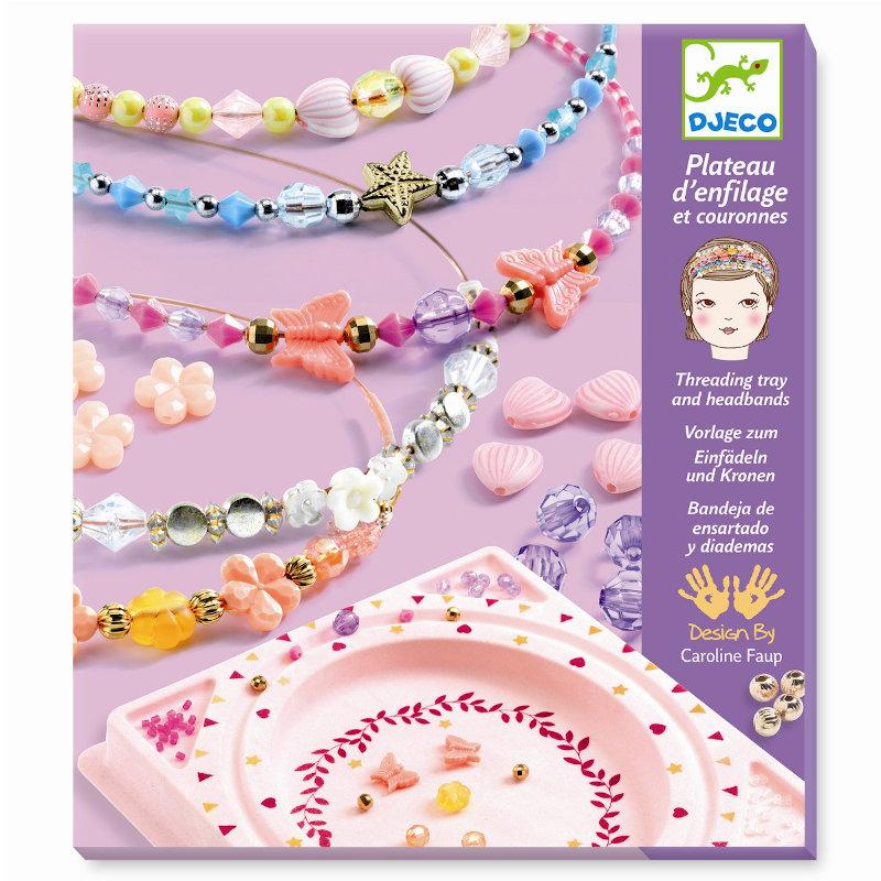 Djeco Kreative Perler - Smukke Hårbøjler
