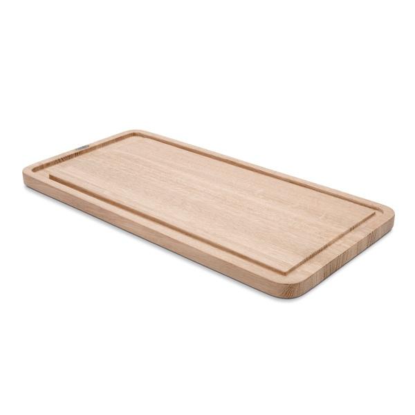 SKAGERAK Plank skærebræt, 25x50 cm, egetræ