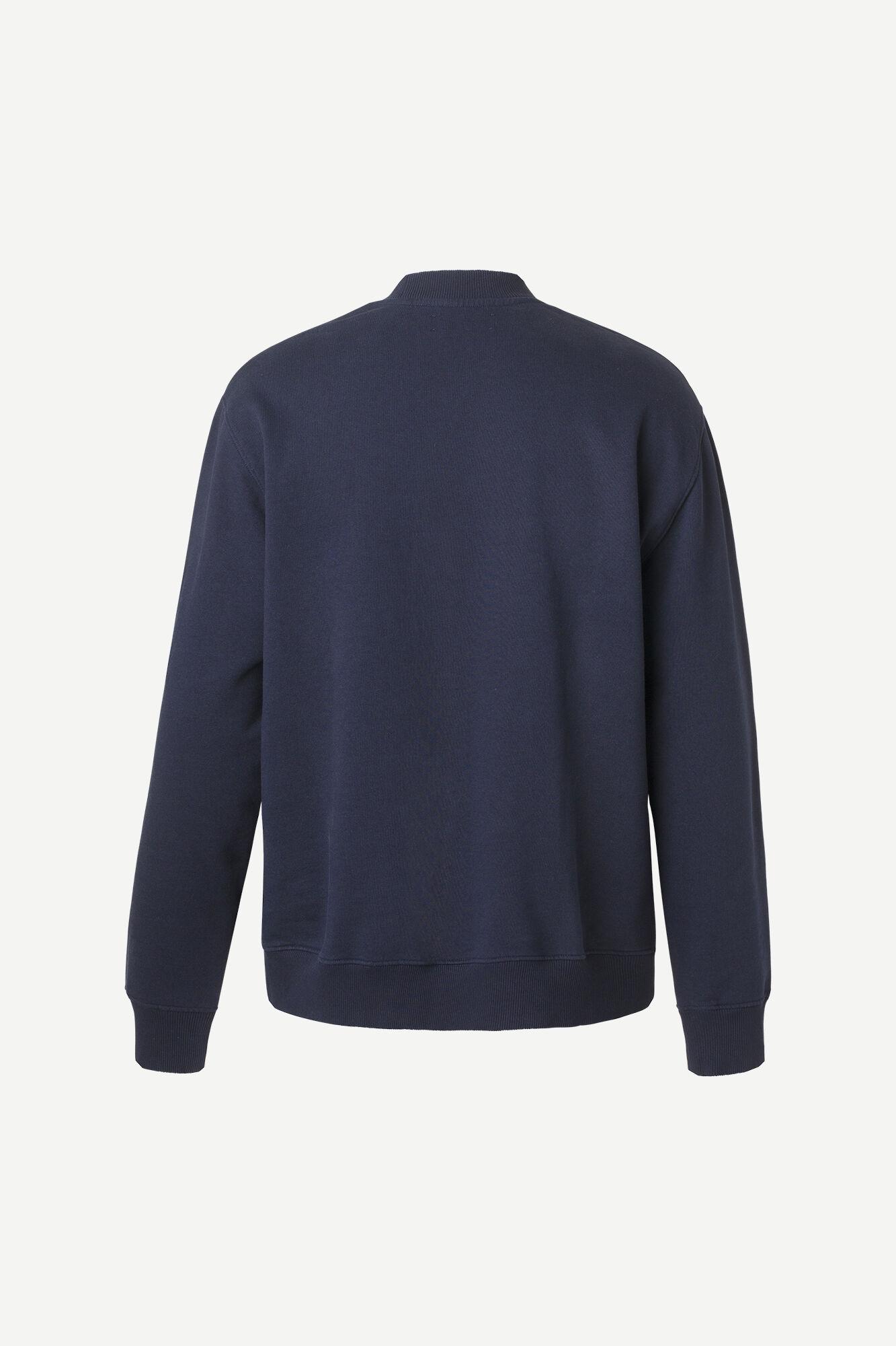 Samsøe & Samsøe Norsbro sweatshirt, sky captain, small
