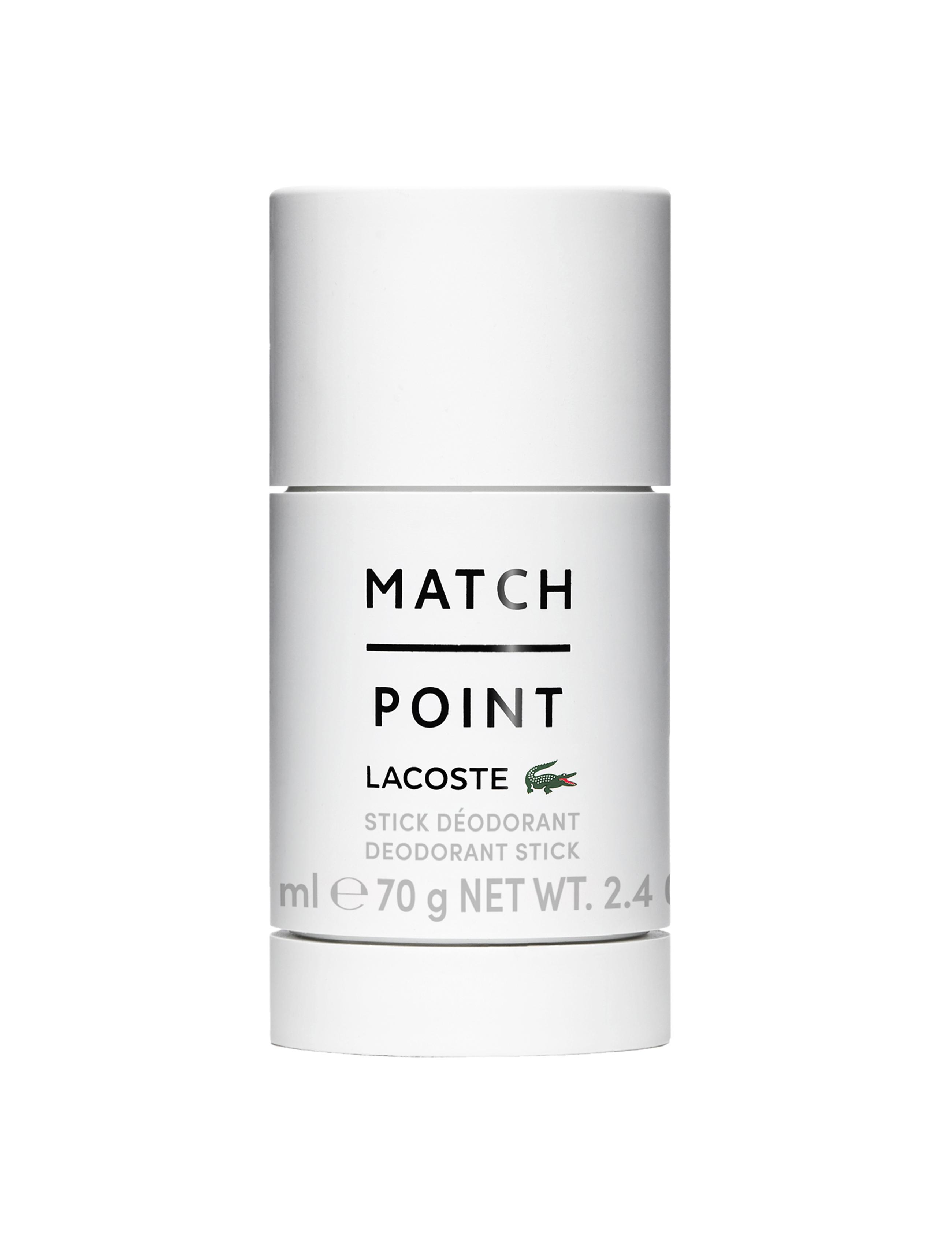 Lacoste Match Point Deodorant Stick, 75 ml
