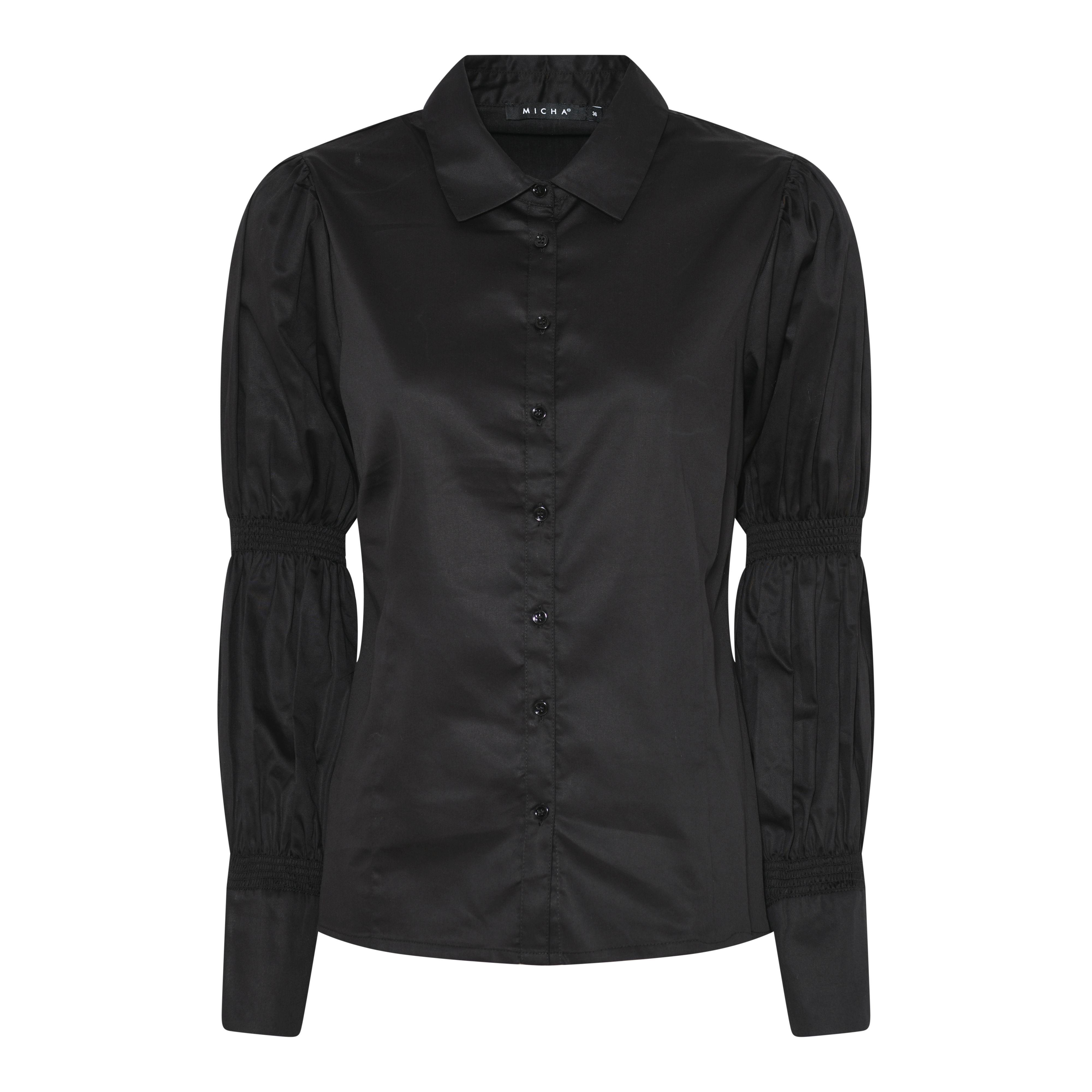 Micha skjorte, Sort, 48