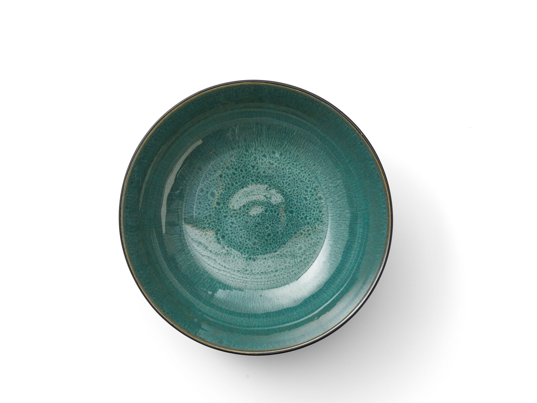 Bitz salatskål, Ø30 cm, sort/grøn