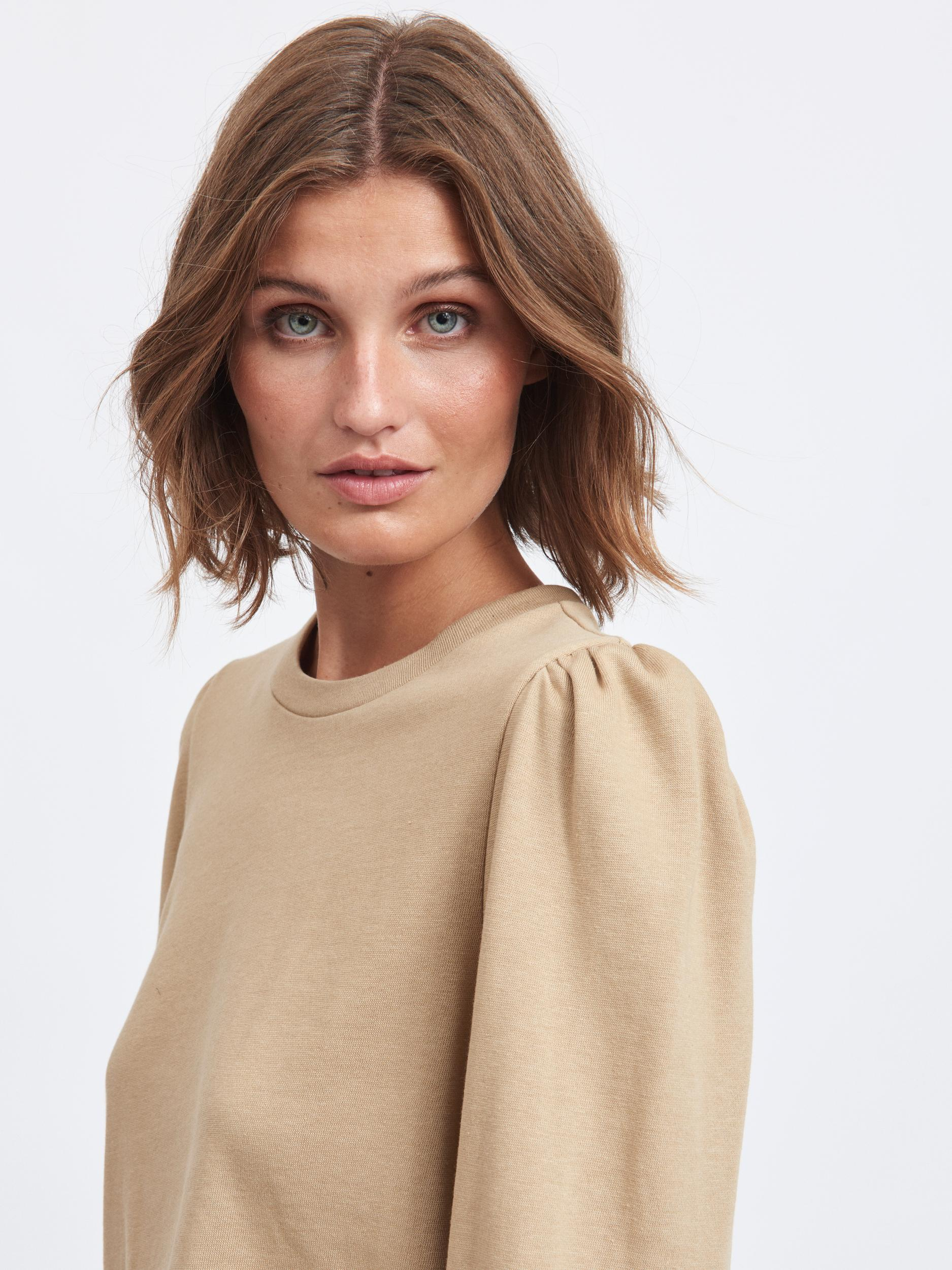 VILA Rustie sweatshirt, Nomad, XL