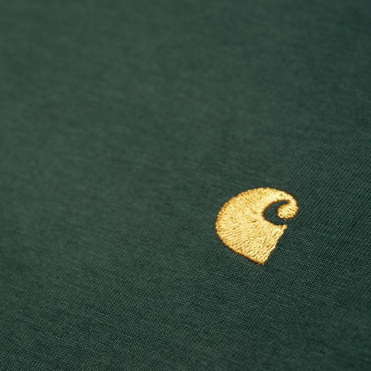 Carhartt L/S Chase t-shirt, dark teal, small