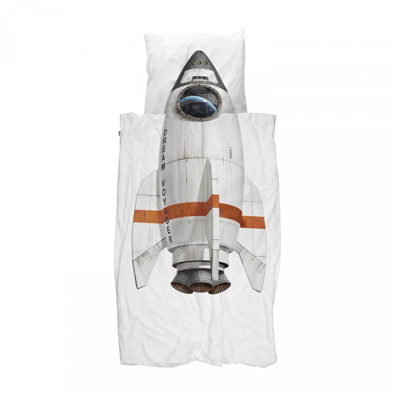 SNURK sengetøj, Rocket, 100x140 cm
