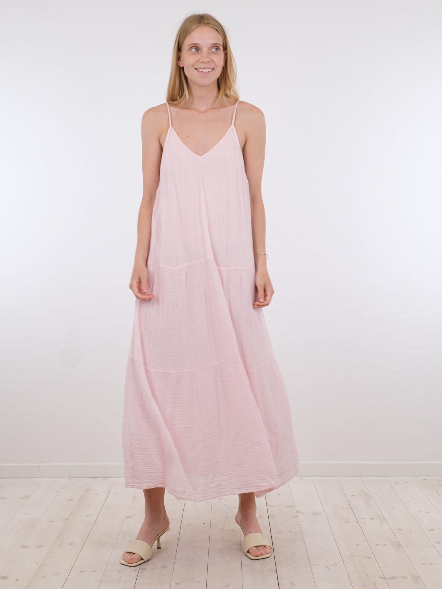 Neo Noir Berna Gauze kjole, light pink, 38