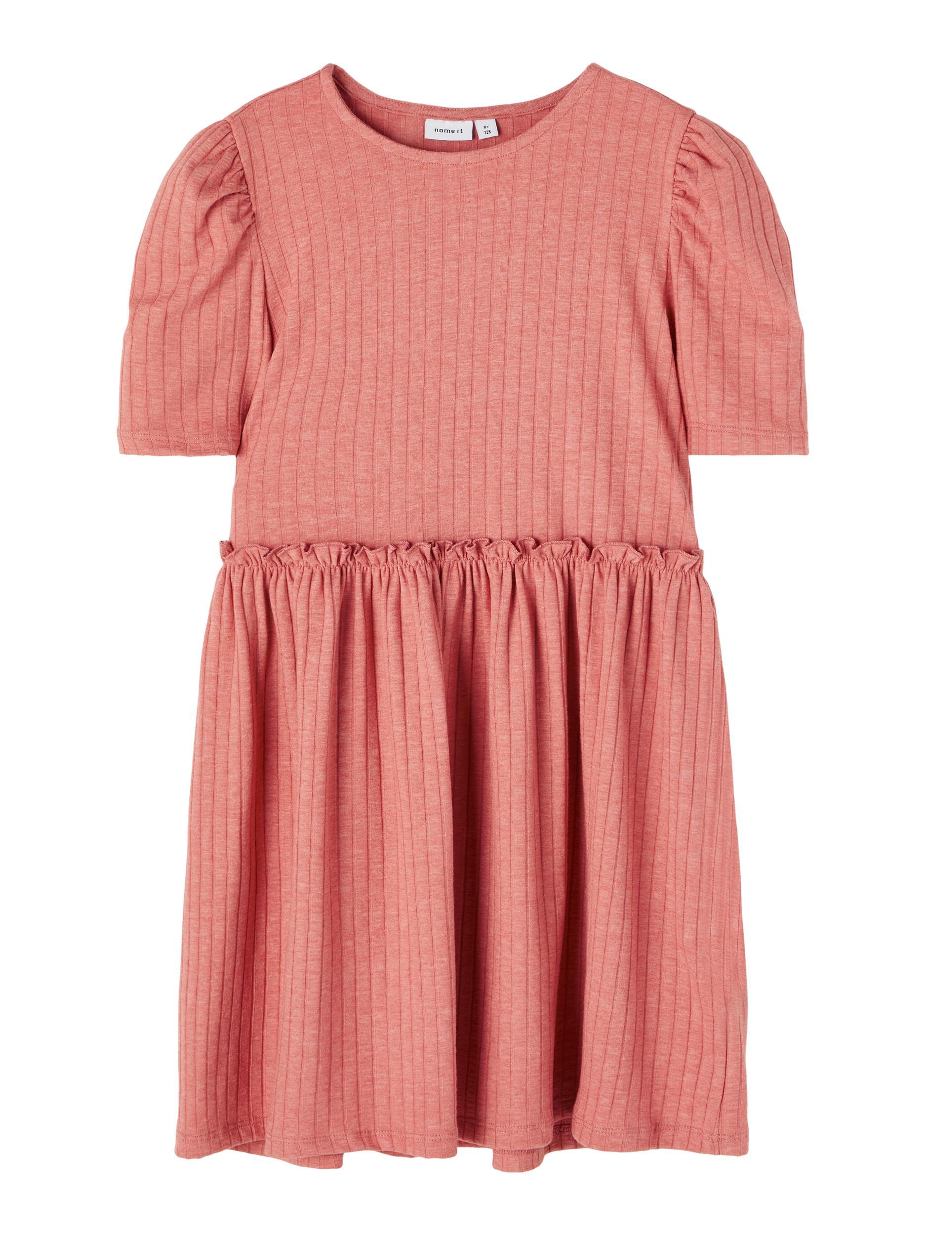 Name It Nola SS kjole, desert sand, 152