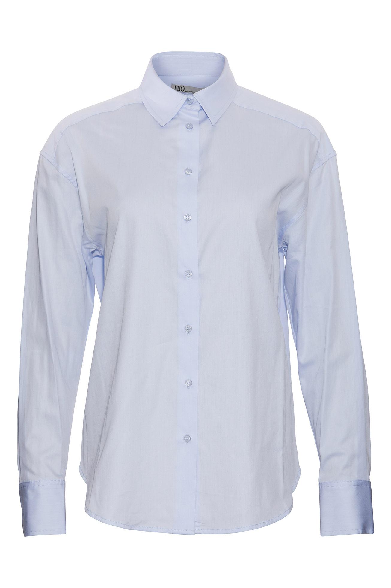 PBO Bizzy skjorte, light blue, 40