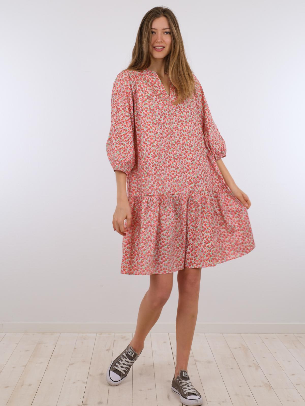 Neo Noir Sammy kjole, coral, 40