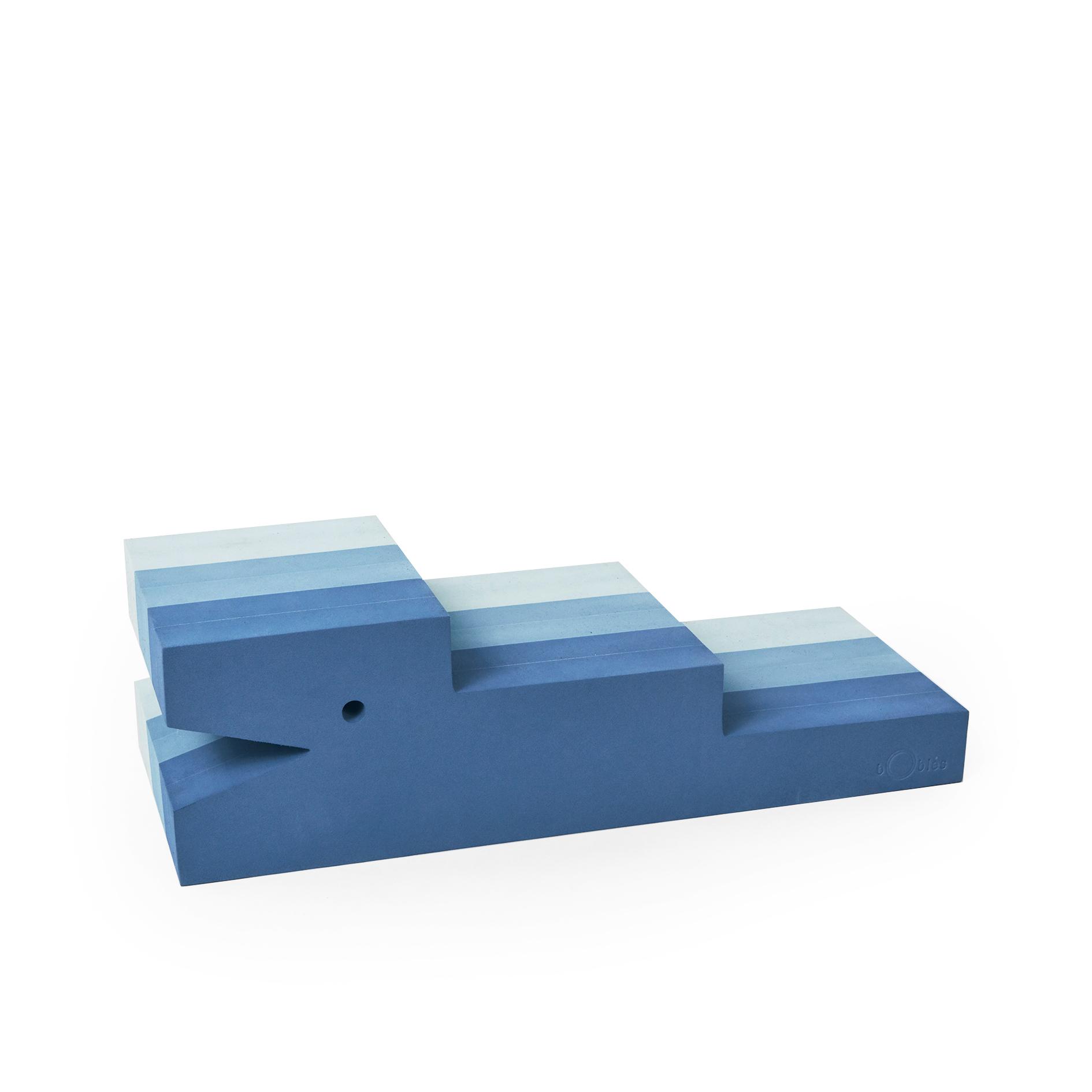 bObles krokodille, blå