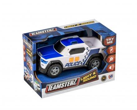 Teamsterz Politibil med lys og blink