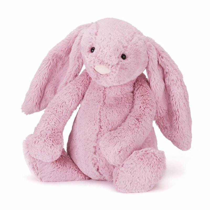 Jellycat, Bashful kanin, 51 cm, tulip pink