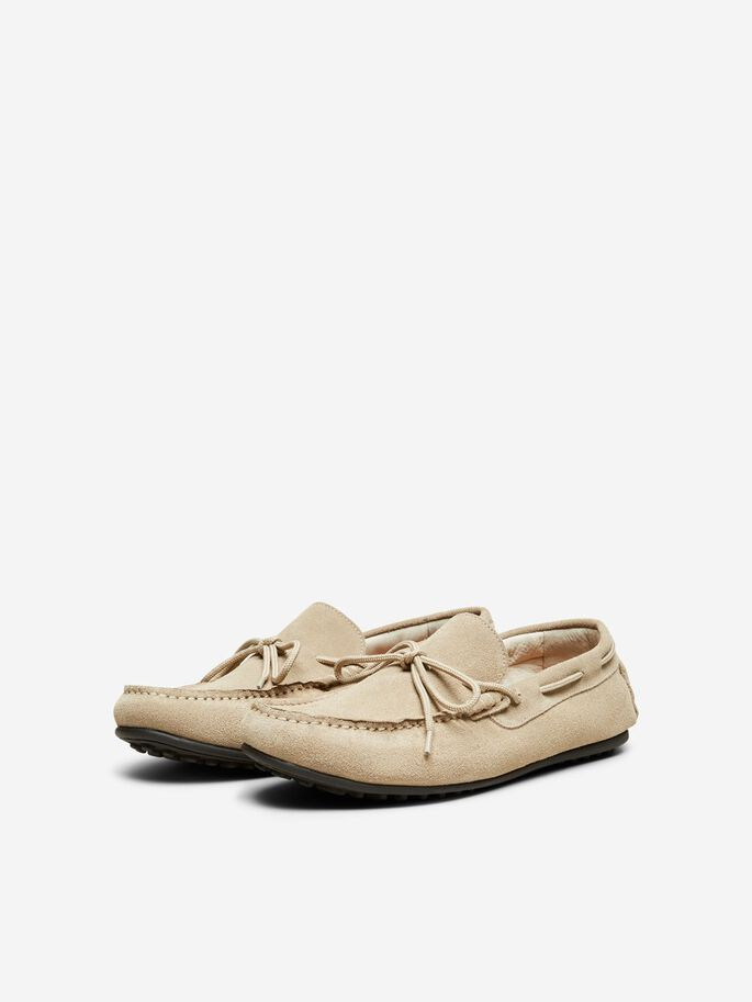 Selected 16066538 sko, sand, 45