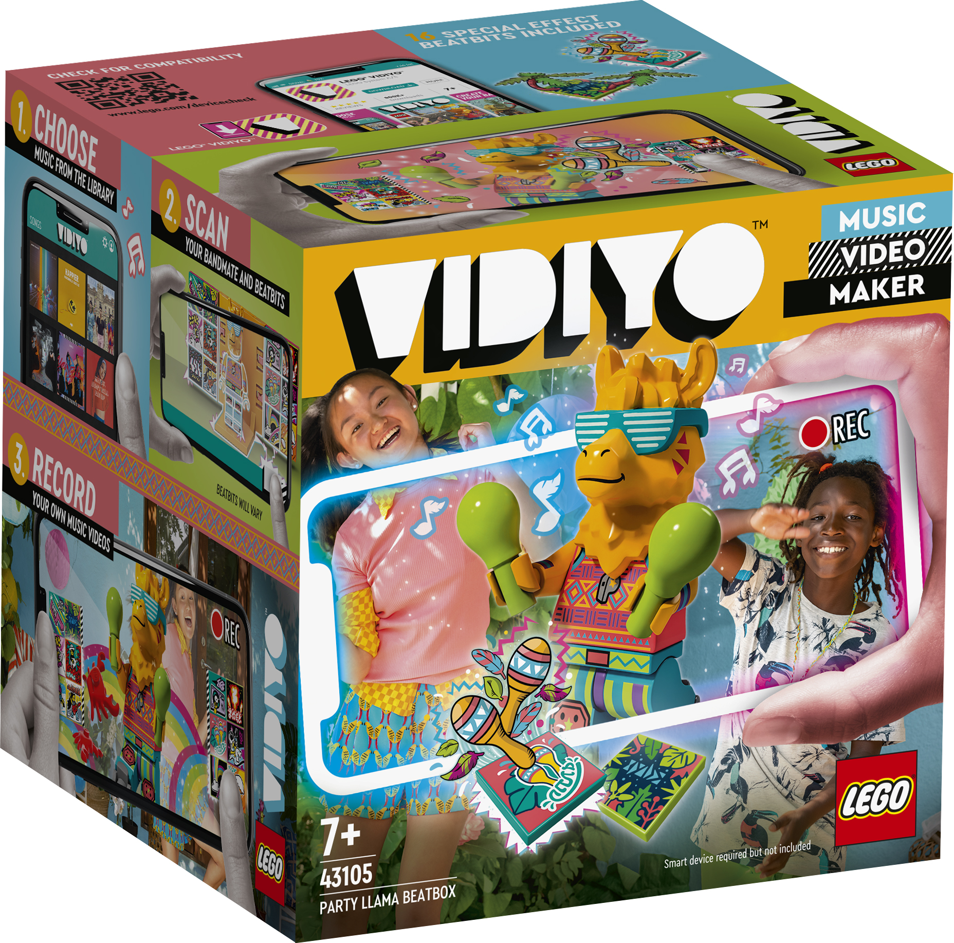 LEGO Vidiyo Party Llama BeatBox - 43105