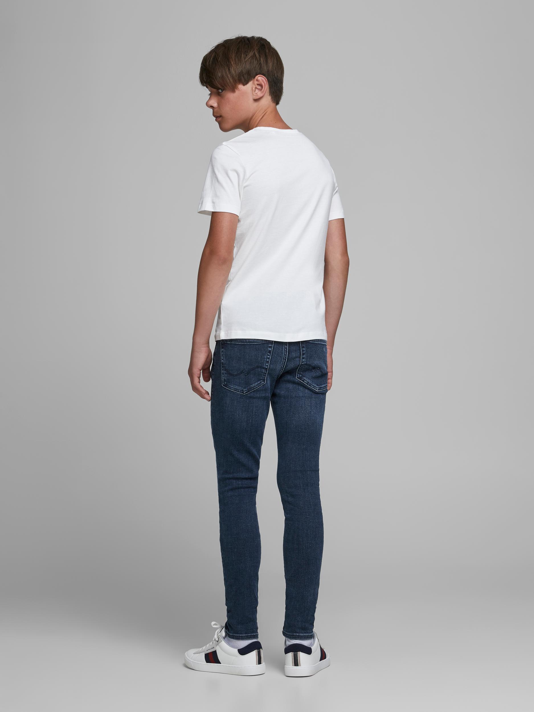 Jack & Jones Liam Original 812 jeans, blue denim, 140
