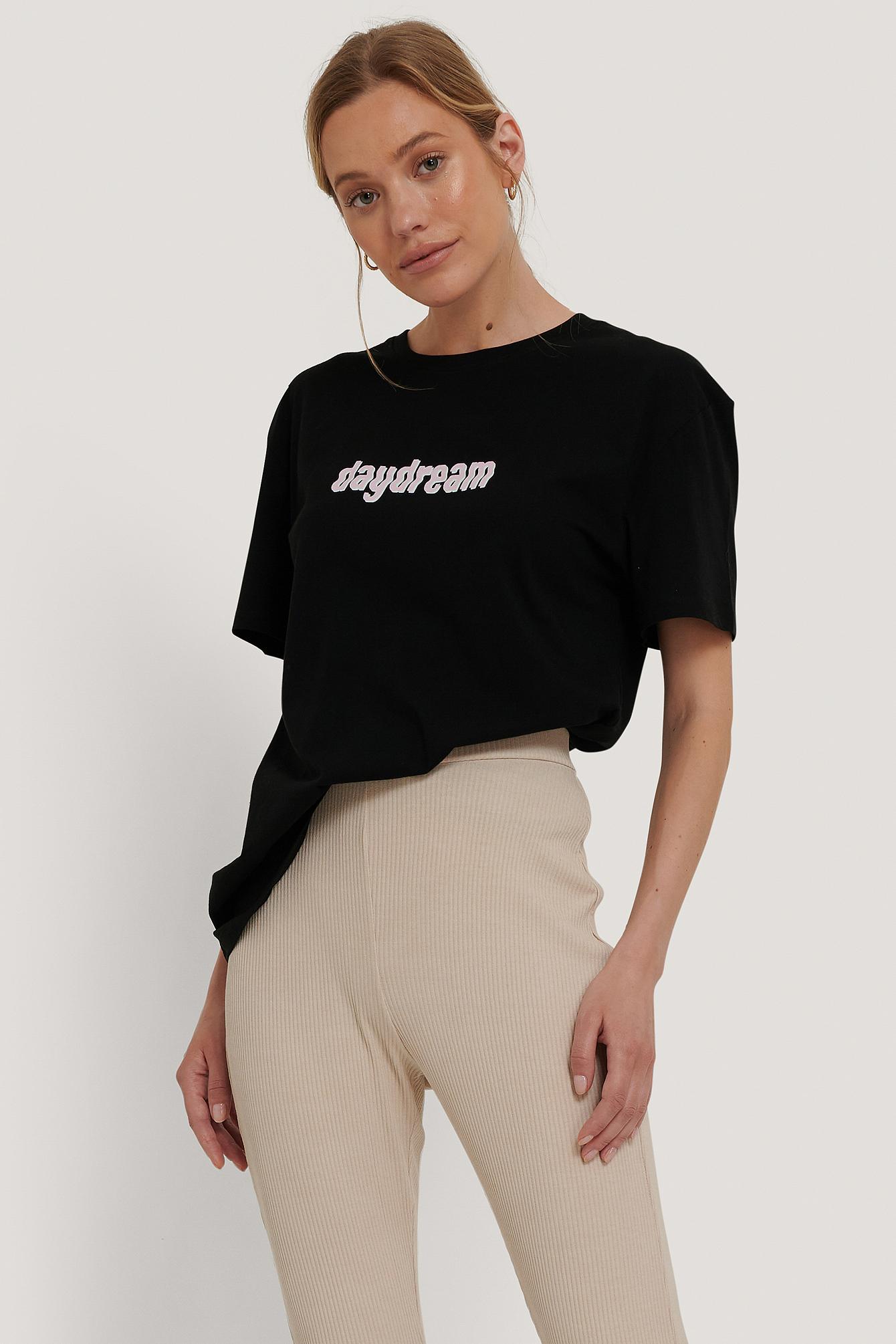 NA-KD T-shirt m. tryk