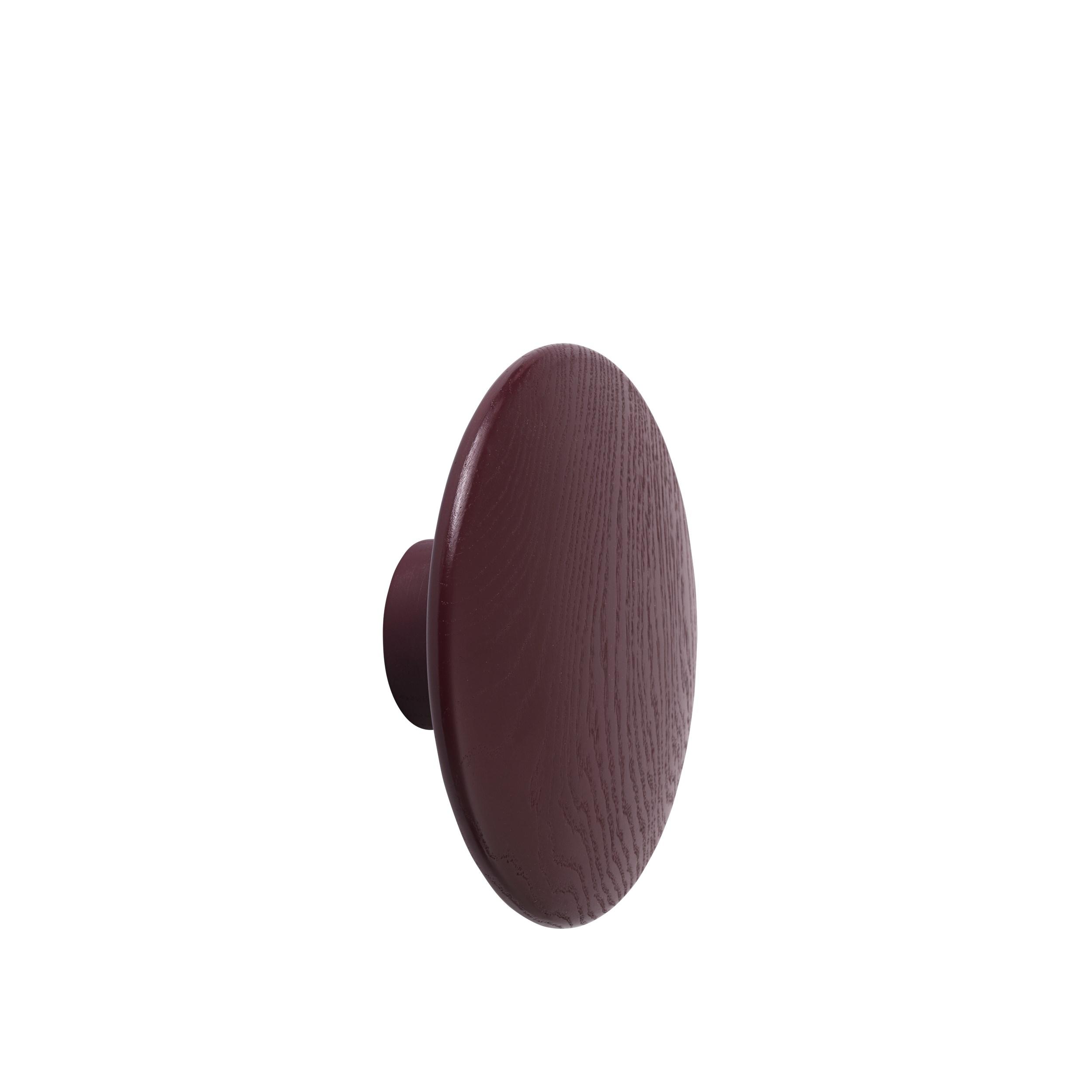 Muuto The Dots knage, large, burgundy