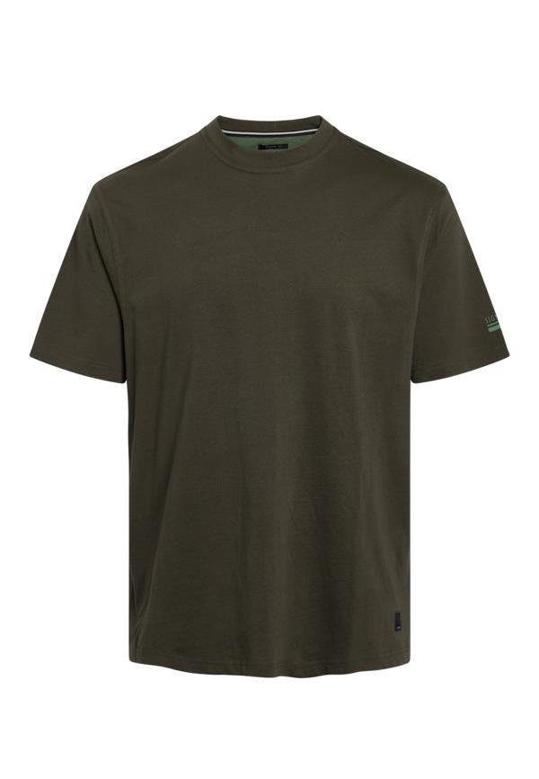 Signal Eddy Organic t-shirt, dark leave, medium