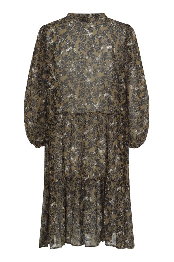 Second Female Simone kjole, burnt olive, large