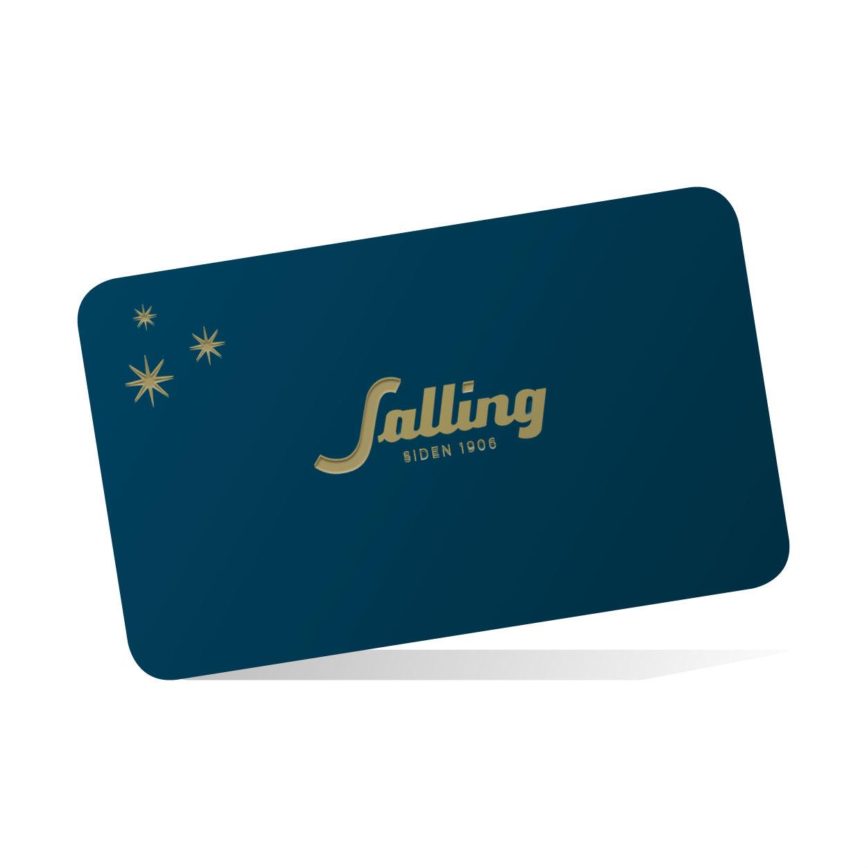 Salling gavekort - 1900 kr