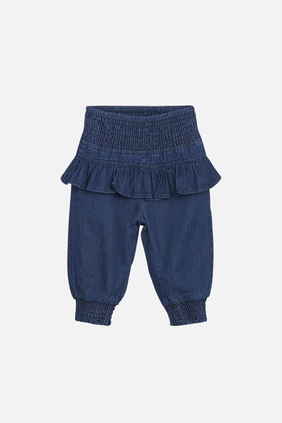 Hust & Claire Trine bukser, denim blue, 80