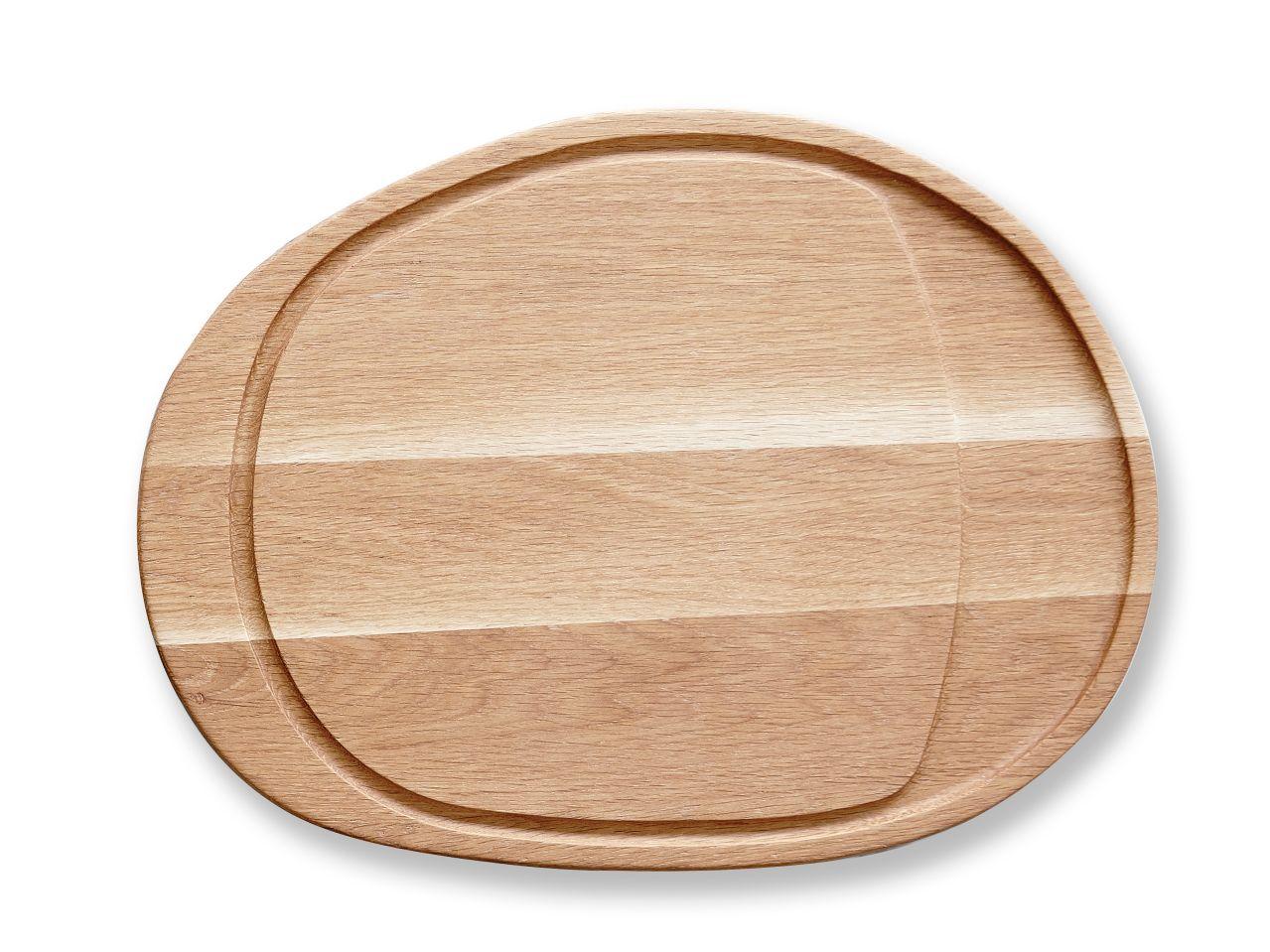 Bitz skærebræt, 26x35,5 cm, egetræ