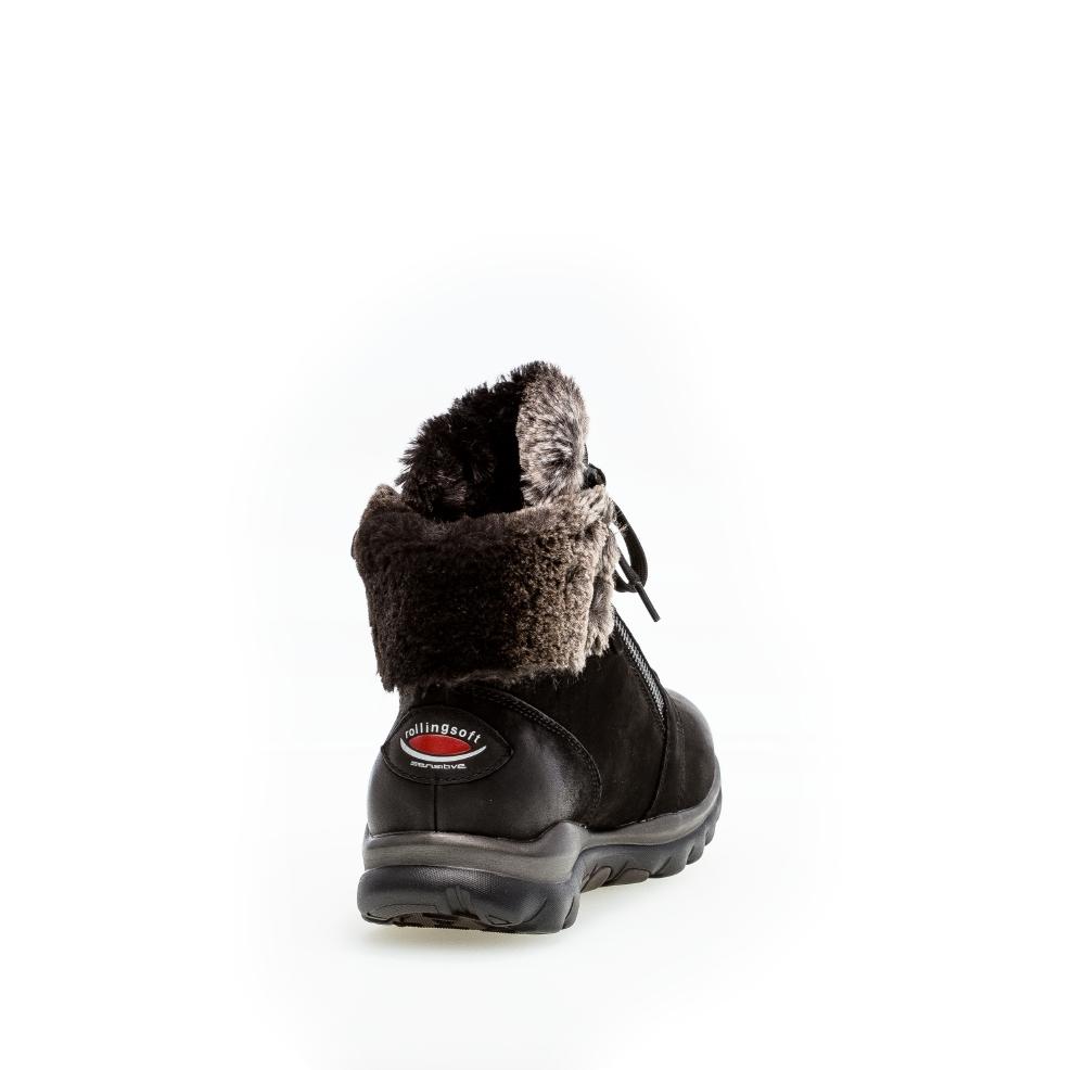 Gabor 76.866.47 støvler, black, 39.5
